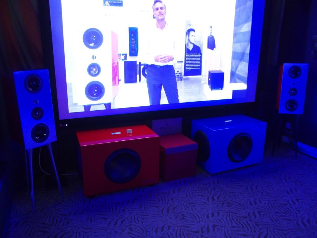 Sound Fusion's Starke Sound demo room.