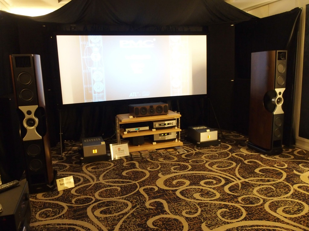 The PMC Fenestria speakers made their debut in a Malaysian AV show over the weekend.