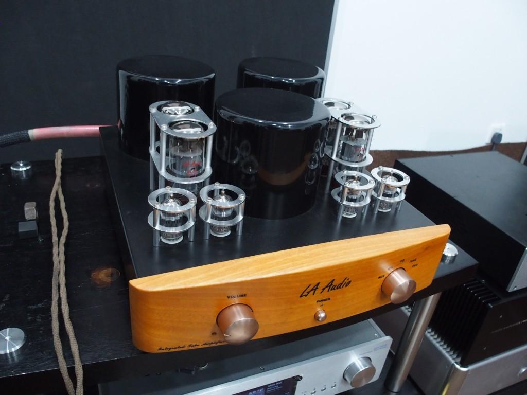 An LA Audio valve amp.