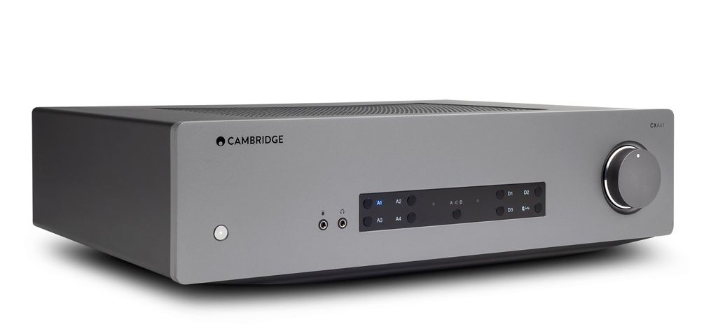 The CAmbridge Audio CXA61 60-watter integrated amplifier.