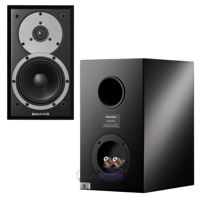 Dynaudio Emit M10 speakers.