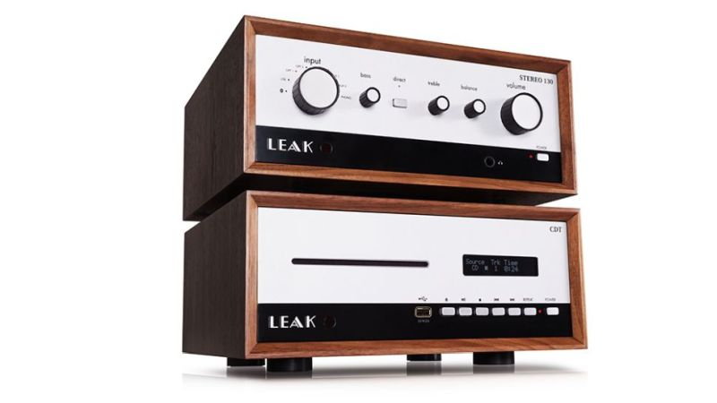 The Leak Stereo 130 with the matching CD player.