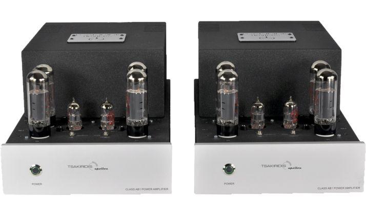 The Tsakaridis Apollon monoblock valve amps.