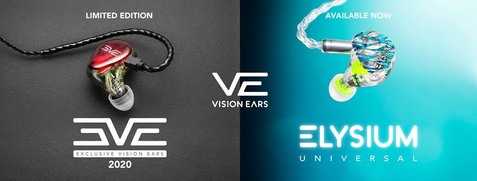The Vision Ears IEMs.