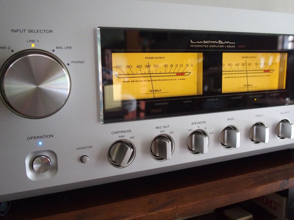 The Luxman L550