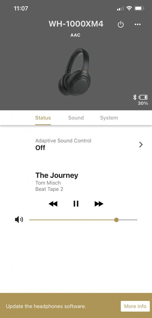 The app is a must to maximize the functionality of these headphones